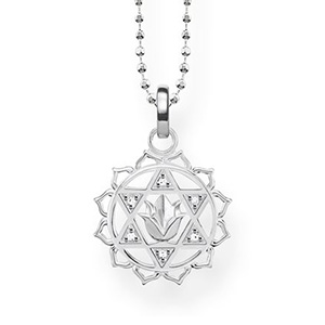 THOMAS SABO NECKLACE HEART CHAKRA