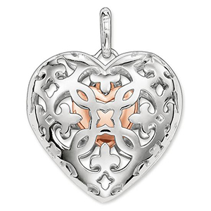 THOMAS SABO GLAM & SOUL PENDANT HEART MEDALLION